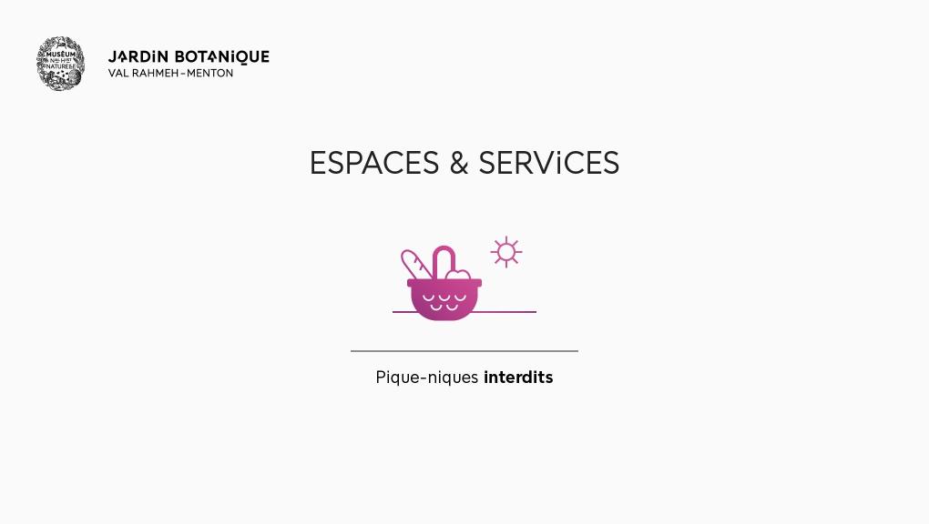 Espaces et services - Jardin botanique Val Rahmeh Menton © MNHN